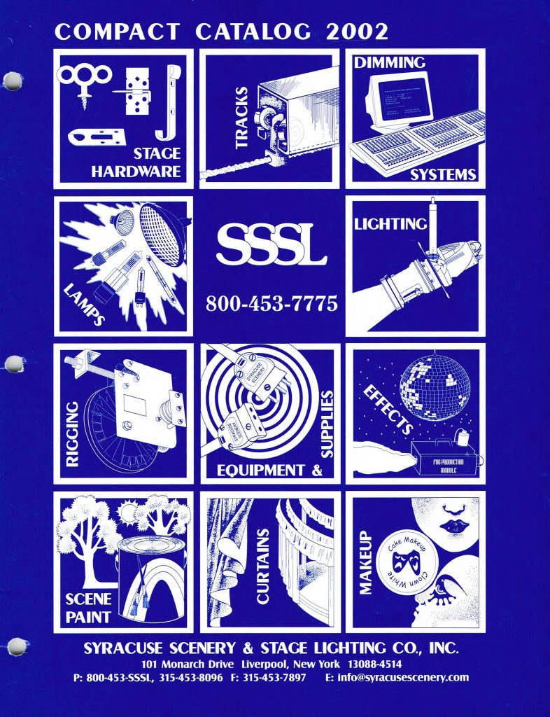 The cover of our 2002 catalog