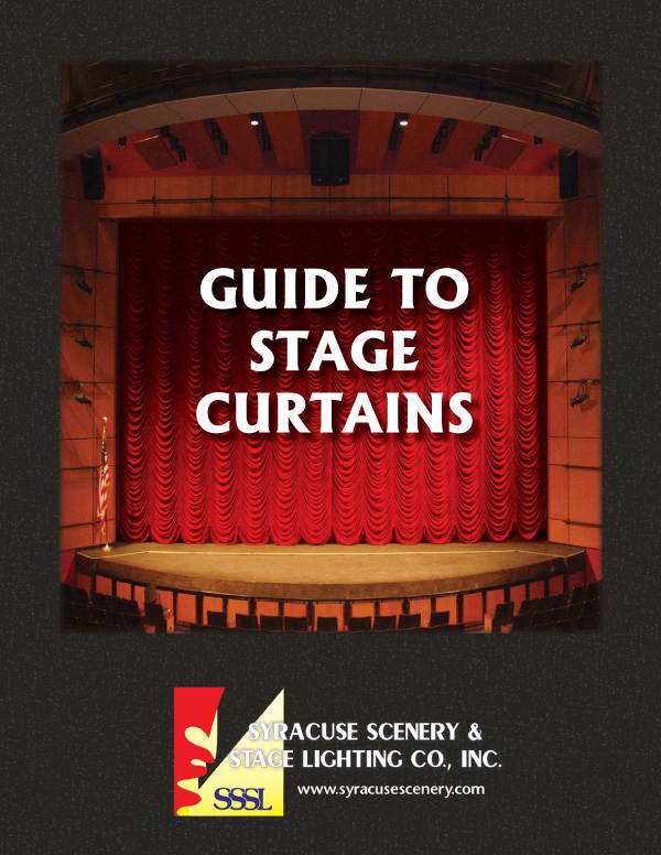 Cover of our Guide to Stage Curtains